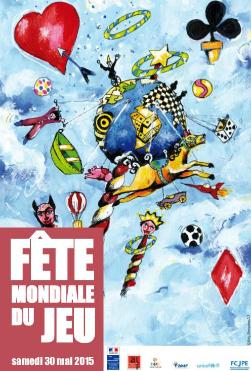 Fte mondiale du jeu 2015 - Affiche