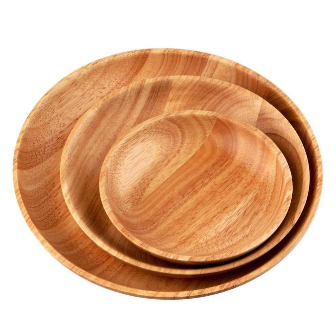 3pcs-set-handmade-natural-wood-plate-dessert